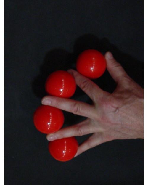 Chicago žogice 52 mm rdeče