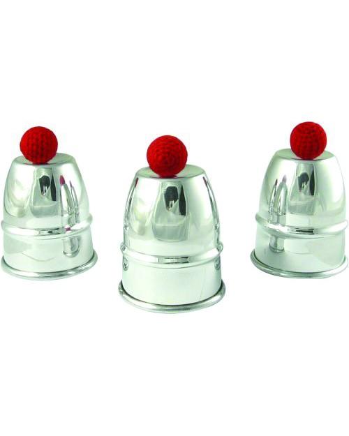 Cups & Balls (Lončki in žogice) Aluminij