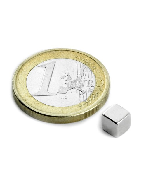 Magnet Supermočan kocka 5 mm