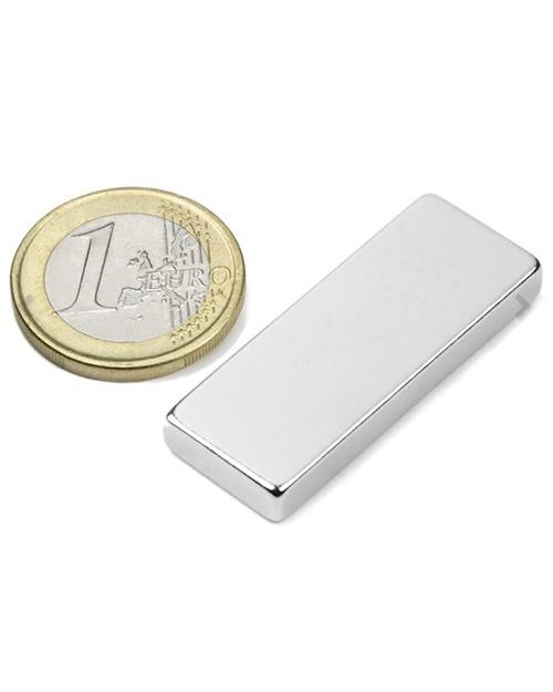 Magnet Supermočan Kvader 40 x 15 x 5 mm