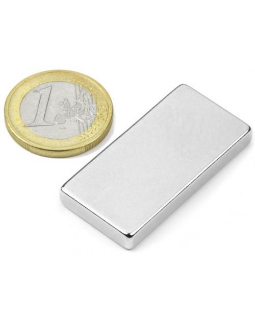 Magnet Supermočan Kvader 40 x 20 x 5 mm