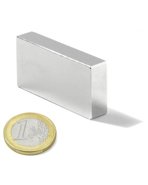 Magnet Supermočan Kvader 46 x 30 x 10 mm