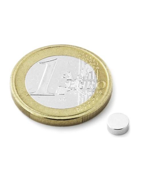Magnet Supermočan okrogli, premera 5 mm x 3 mm
