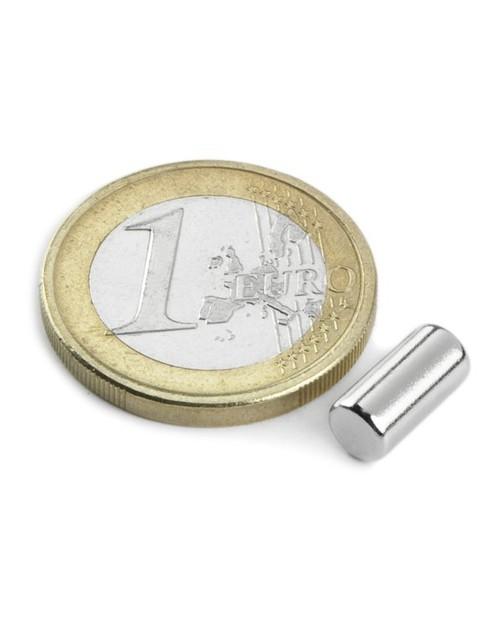 Magnet Supermočan valj, premera 5 mm x 8 mm
