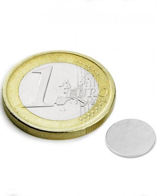 Magnet Supermočan okrogli, premera 10 mm x 0,6 mm