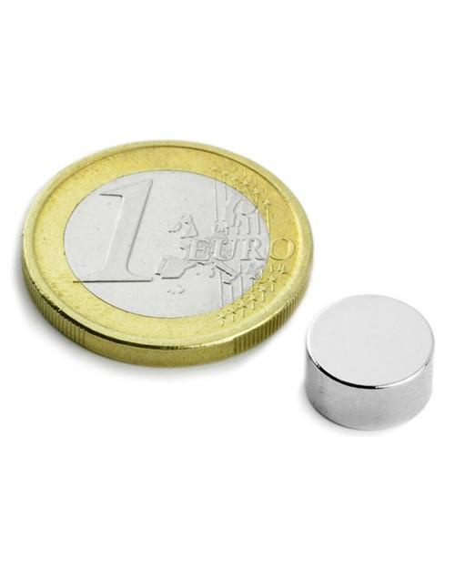 Magnet Supermočan okrogli, premera 10 mm x 5 mm