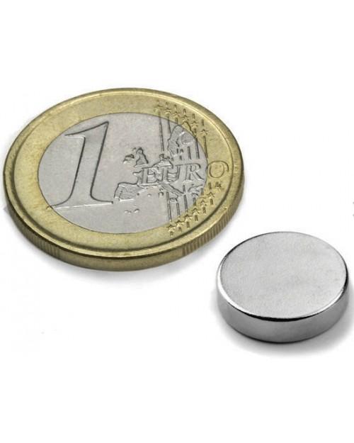 Magnet Supermočan okrogli, premera 12 mm x 3 mm