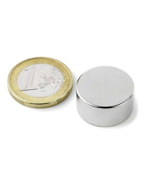Magnet Supermočan okrogli, premera 20 mm x 10 mm