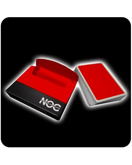 NOC Deck igralne karte rdeče