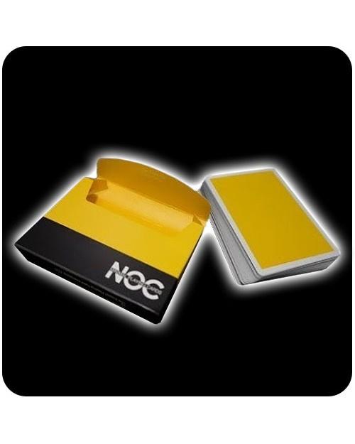 NOC Deck igralne karte rumene