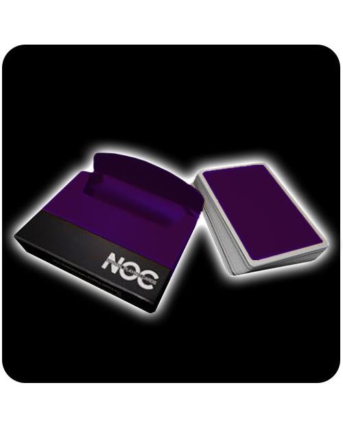 NOC Deck igralne karte vijolične