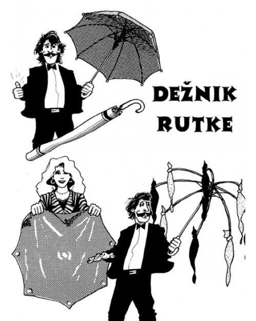 Dežnik - rutke