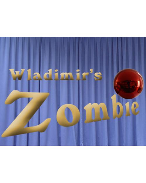 Zombie rdeča 20 cm